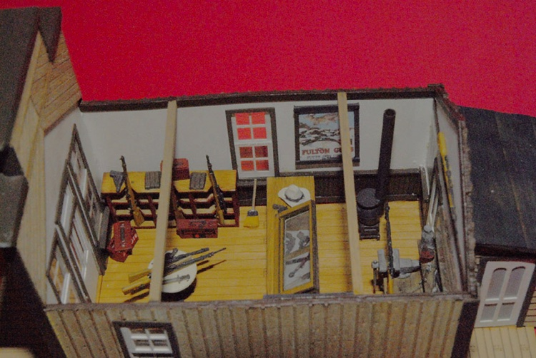 S scale customer photos wild west models gallery wild - Printable ho scale building interiors ...