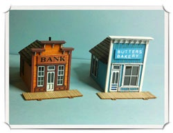 Betty Homan - N scale - assay and bakery