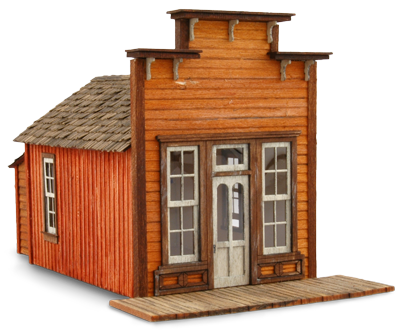 Assay Office Products Wild West Scale Model Builders
