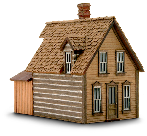 New Construction Homes Model: Wild West Scale Model Builders