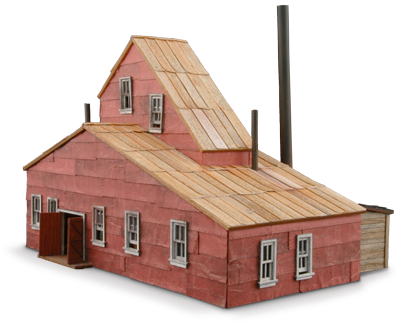 Quartz Hill Mine Products Wild West Scale Model Builders
